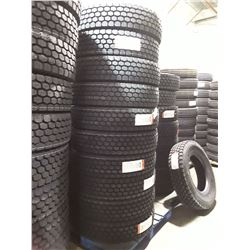 Set of 10 New Regional Drive AD156 Commercial Tires - 11R22.5 16 ply Load Range 'H'