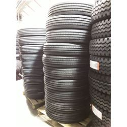 Set of 10 New Regional AT160 All Position Commercial Tires- 11R24.5 16 ply