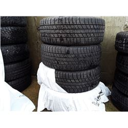 Set of 4 Used Tires Uniroyals 225/50R18