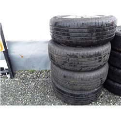Set of 4 Michelin Tires 235/65R16 With Honda Rims