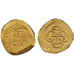 """Mexico City, Mexico, cob 8 escudos, 1714J, NGC MS 64, ex-1715 Fleet (designated on label), """"top pop"""""""