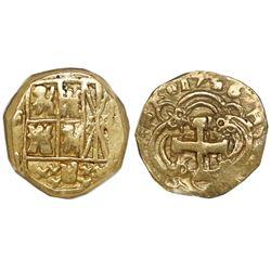 Bogota, Colombia, cob 2 escudos, 1736(M).