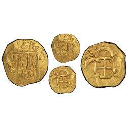 Seville, Spain, cob 2 escudos, 1615D, rare, PCGS AU50, ex-Atocha (1622, designated on label).