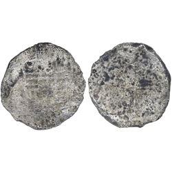Mexico City, Mexico, cob 8 reales, Philip III, assayer not visible, ex-Peterson, very rare provenanc