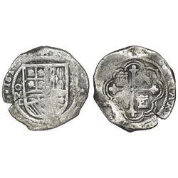 Mexico City, Mexico, cob 8 reales, 161(?)D.