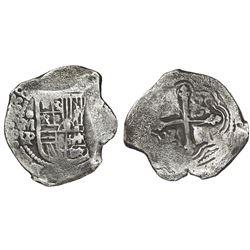 Mexico City, Mexico, cob 8 reales, 1638P.