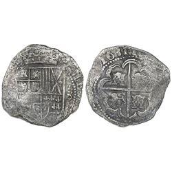 Potosi, Bolivia, cob 8 reales, 1631(T).