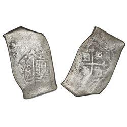 Mexico City, Mexico, cob 8 reales, (1)679L.