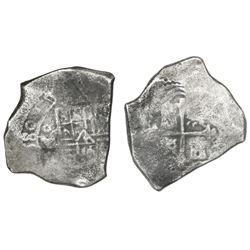 Mexico City, Mexico, cob 8 reales, (1)680(L).