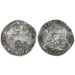 "Campen, United Netherlands, ""rider"" ducatoon, 1666."