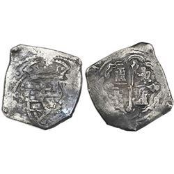 Mexico City, Mexico, cob 8 reales, (171)4J.