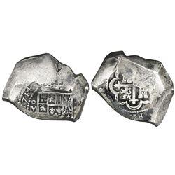 Mexico City, Mexico, cob 8 reales, 1714(J), new style, ex-Glendining.