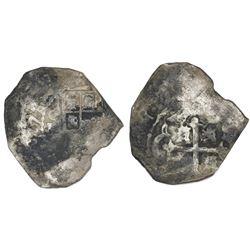 Mexico City, Mexico, cob 8 reales, 1731(F).