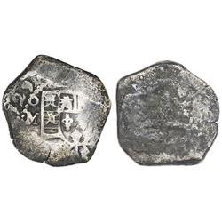 Mexico City, Mexico, cob 4 reales, (1)729(R ).