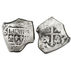 Mexico City, Mexico, cob 4 reales, (17)29(R ).