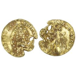 Venice (Italian States), gold zecchino, Alvise Mocenigo (1763-1778).