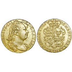 Great Britain (London, England), gold guinea, George III, 1776.