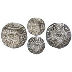 "Mexico City, Mexico, 2 reales, Charles-Joanna, ""Early Series,"" assayer R (Gothic) at bottom between"