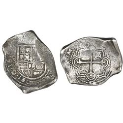 Mexico City, Mexico, cob 8 reales, 1659(?)P.