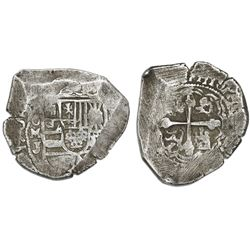 Mexico City, Mexico, cob 8 reales, 1709J.