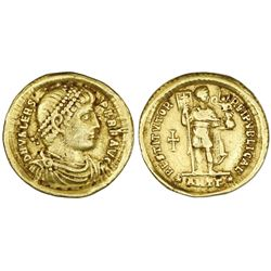 Roman Empire, AV solidus, Valens (364-378 AD), Antioch mint.