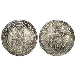 Saxony / Albertine (German States), taler, August, 1563-HB, Dresden mint.