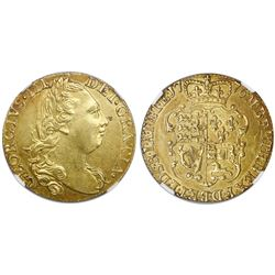 Great Britain (London, England), gold guinea, George III, 1776, NGC AU 58.