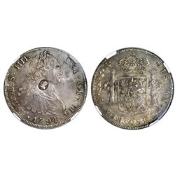 Great Britain (Bank of England), dollar, oval George III countermark (1797-99) on a Potosi, Bolivia,