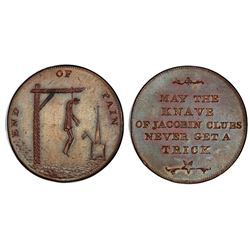 Middlesex, Great Britain, copper 1/2 penny token, no date (ca. 1793), Spence's, PCGS MS63 Brown.