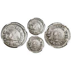Tegucigalpa, Honduras (Central American Republic), 2 reales, 1825NR, rare, NGC VF 25.