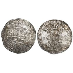 Tournai, Spanish Netherlands, patagon, Philip IV, 1622.