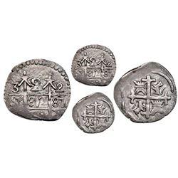 "Maracaibo, Venezuela, ""imitation cob"" 2 reales, date ""38"" (1813-14), very rare, NGC AU 55, Gibbs Pla"
