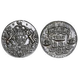 Great Britain, copper-alloy Admiral Vernon medal, 1739, Porto Bello, no portrait, ex-Adams.