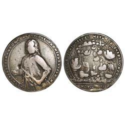 Great Britain, silver Admiral Vernon medal, 1739, Porto Bello, Vernon alone, ex-Adams, ex-Craige.