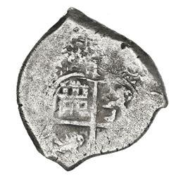 Potosi, Bolivia, cob 1 real, 1671E.