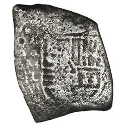 Mexico City, Mexico, cob 8 reales, (168)0L.