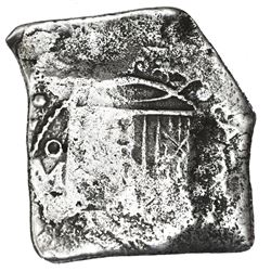 Mexico City, Mexico, cob 8 reales, (168)1L.