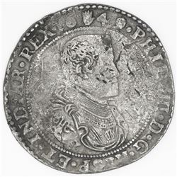 Brabant, Spanish Netherlands (Antwerp mint), portrait ducatoon, Philip IV, 1649.