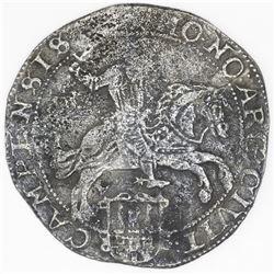 "Campen, United Netherlands, ""rider"" ducatoon, 1661."