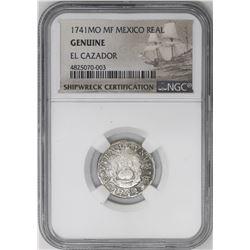 Lot of three Mexico City, Mexico, pillar 1R, Philip V, all NGC genuine / El Cazador: 1741MF, 1742M a