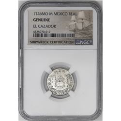 Lot of three Mexico City, Mexico, pillar 1R, Philip V and Ferdinand VI, all NGC genuine / El Cazador
