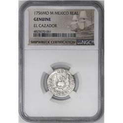 Lot of three Mexico City, Mexico, pillar 1R, Ferdinand VI and Charles III, all NGC genuine / El Caza
