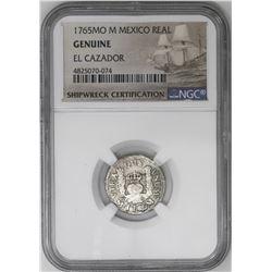 Lot of three Mexico City, Mexico, pillar 1R, Charles III, all NGC genuine / El Cazador: 1765M, 1766M
