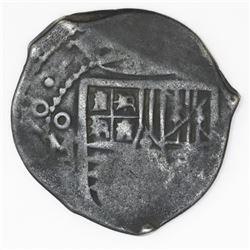 Mexico City, Mexico, cob 4 reales, (16)58P.