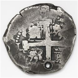 Lima, Peru, cob 8 reales, 1735N.