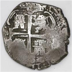 Potosi, Bolivia, cob 8 reales, 1689VR.