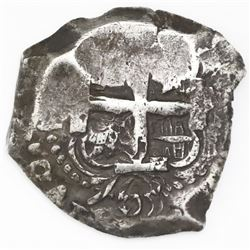 Potosi, Bolivia, cob 8 reales, 1763(V-Y).