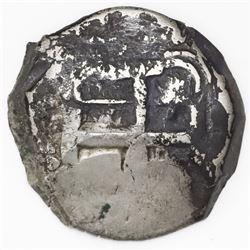 Potosi, Bolivia, cob 8 reales, 1764(V)-Y.