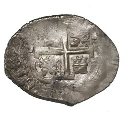 Potosi, Bolivia, cob 2 reales, 1681V.