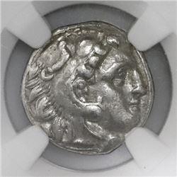Lot of three Kingdom of Macedon, AR drachms, Alexander III (the Great), 336-323 BC, early posthumous